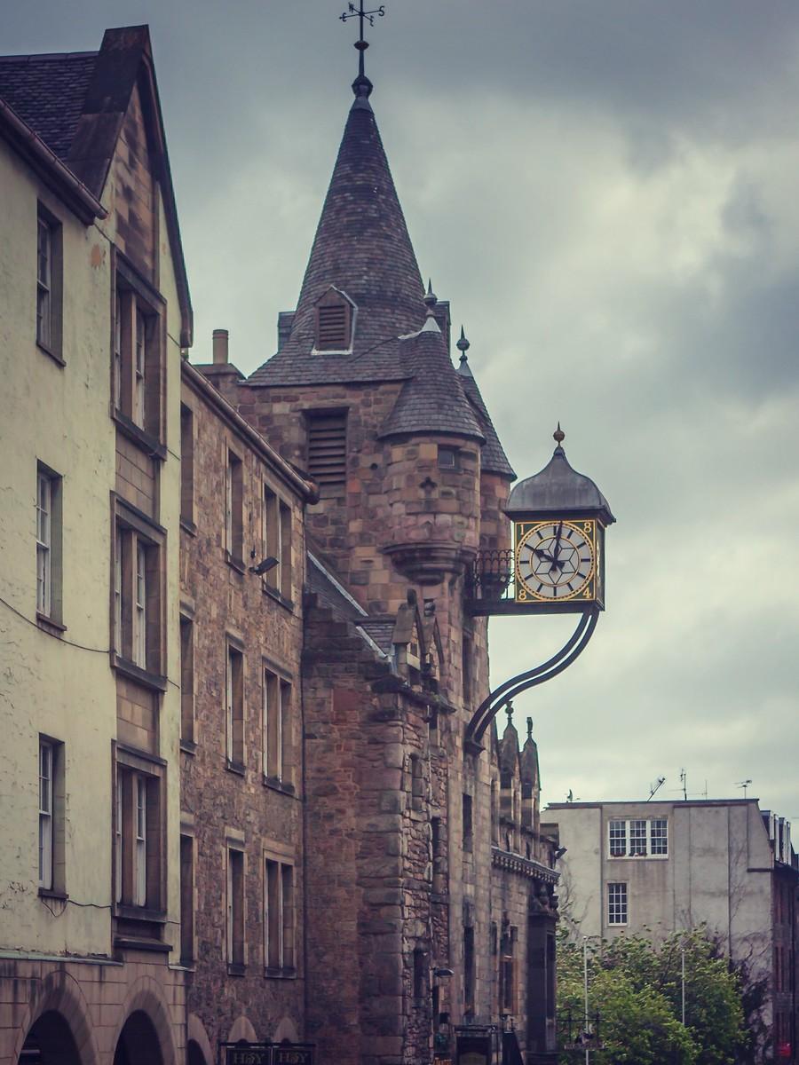 苏格兰爱丁堡,仰头望去_图1-35