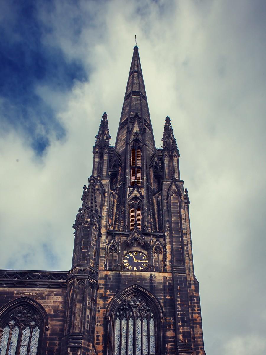 苏格兰爱丁堡,仰头望去_图1-33