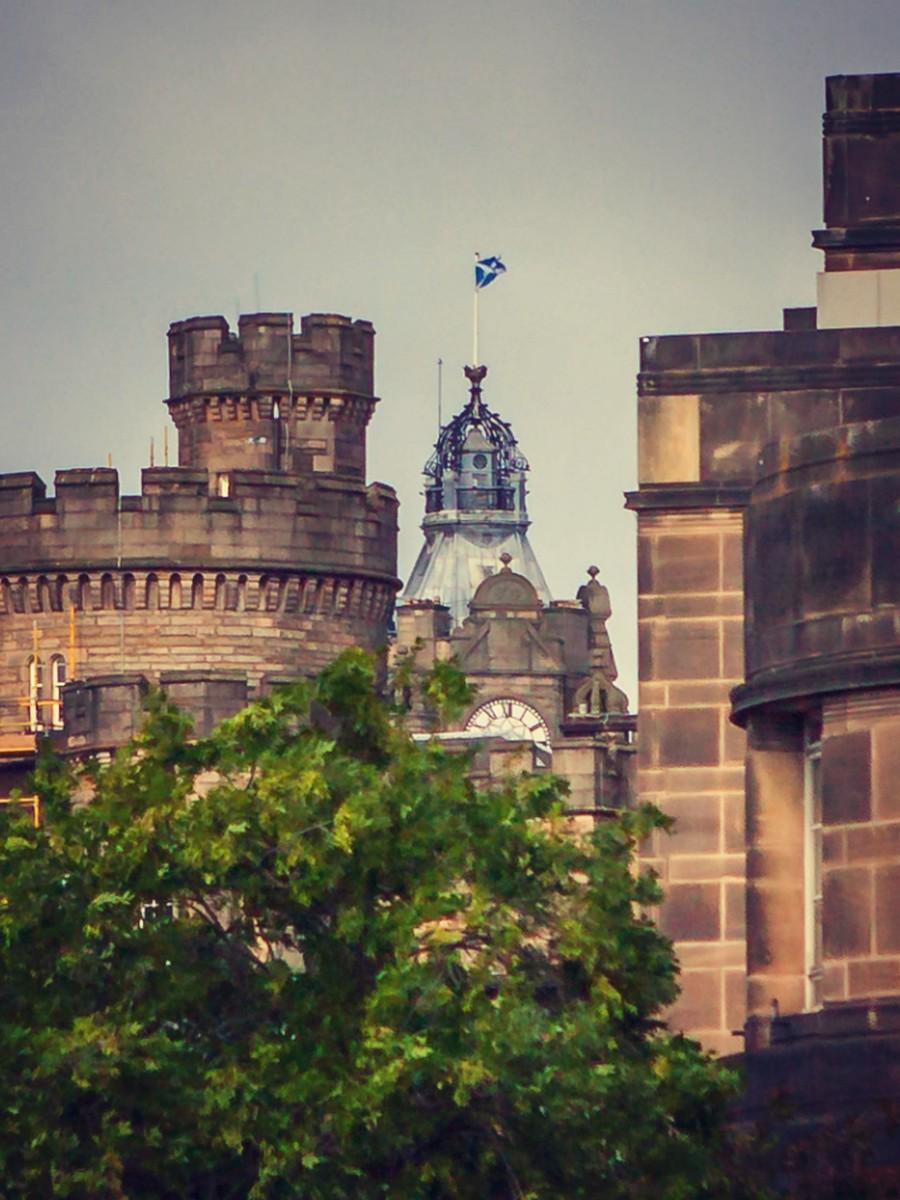 苏格兰爱丁堡,仰头望去_图1-28