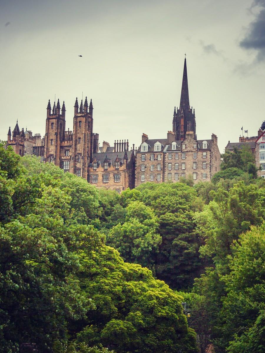 苏格兰爱丁堡,仰头望去_图1-36