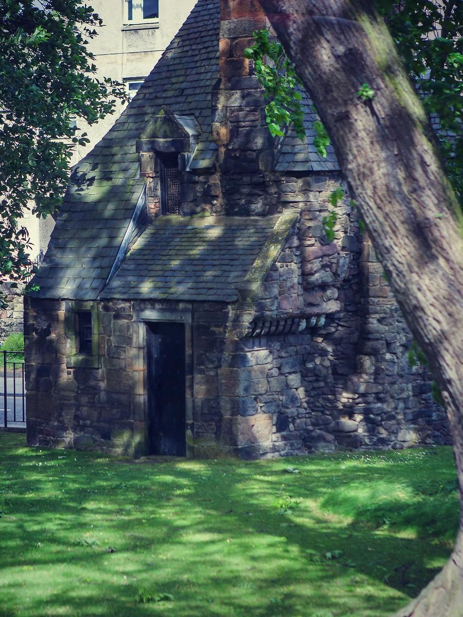 苏格兰爱丁堡,仰头望去_图1-26