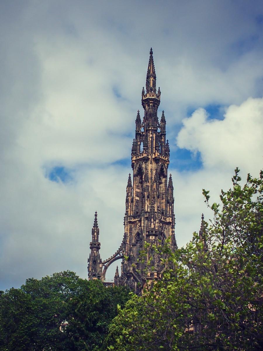 苏格兰爱丁堡,仰头望去_图1-18