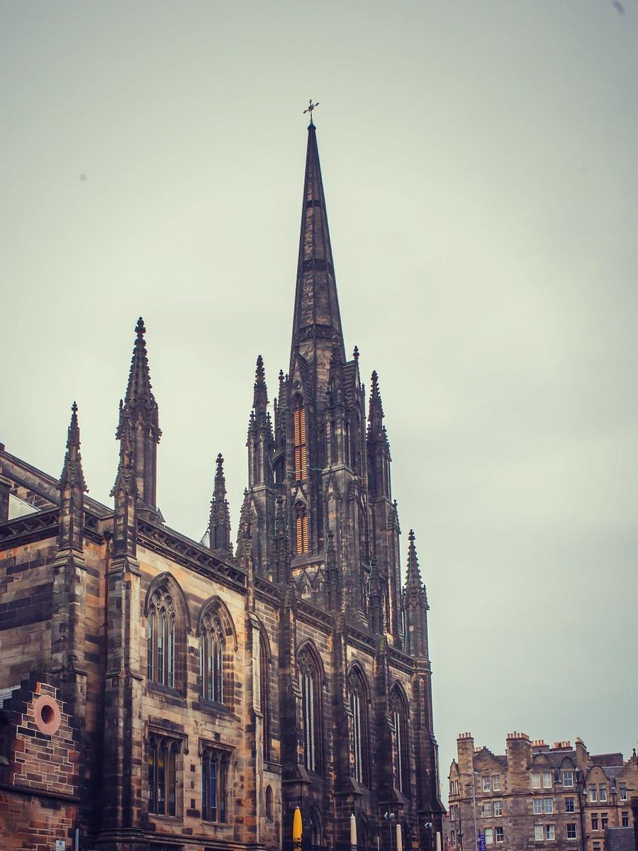 苏格兰爱丁堡,仰头望去_图1-13