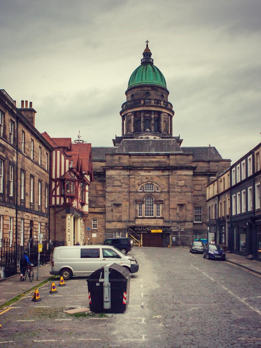 苏格兰爱丁堡,仰头望去_图1-14