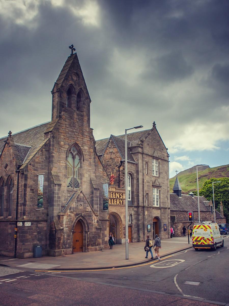 苏格兰爱丁堡,仰头望去_图1-15