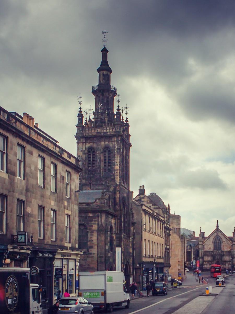 苏格兰爱丁堡,仰头望去_图1-16