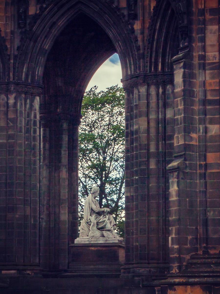苏格兰爱丁堡,仰头望去_图1-12