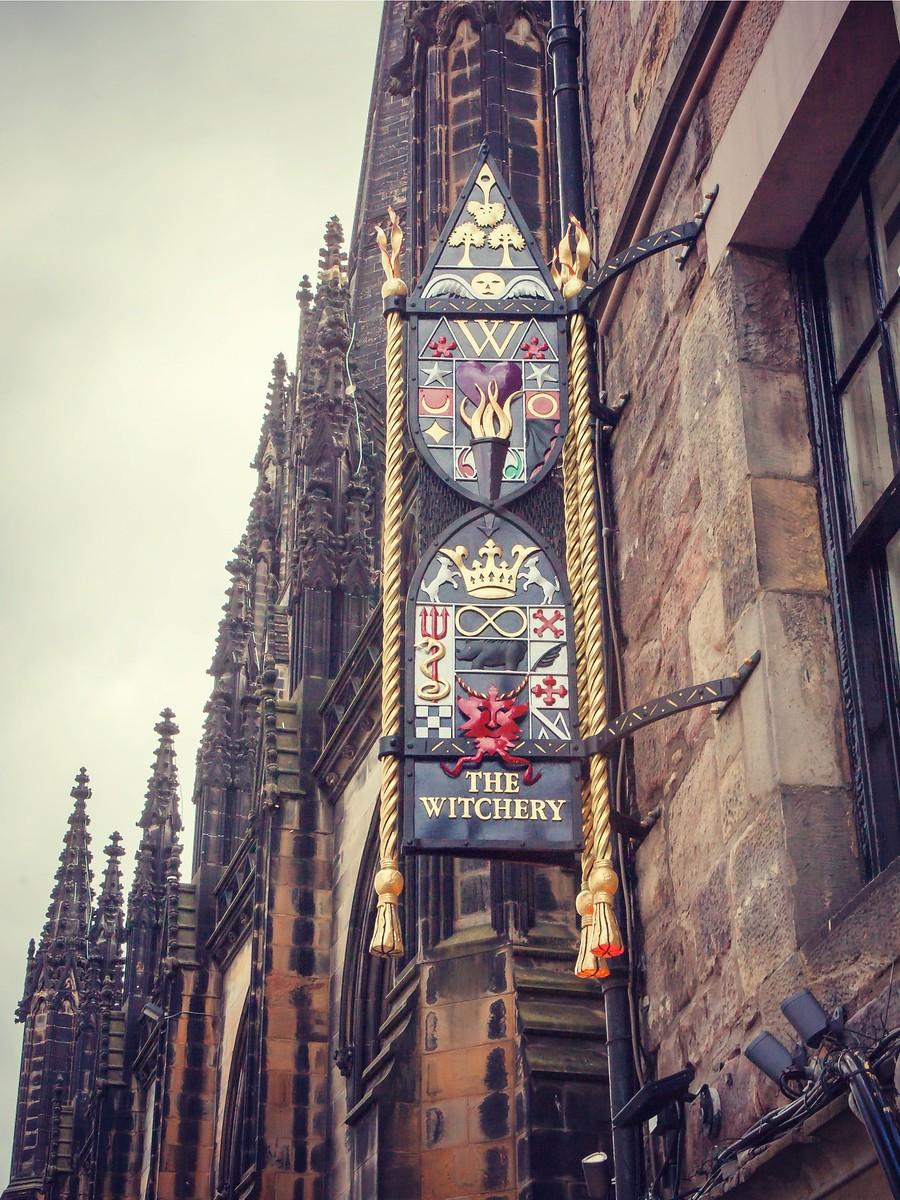 苏格兰爱丁堡,仰头望去_图1-5