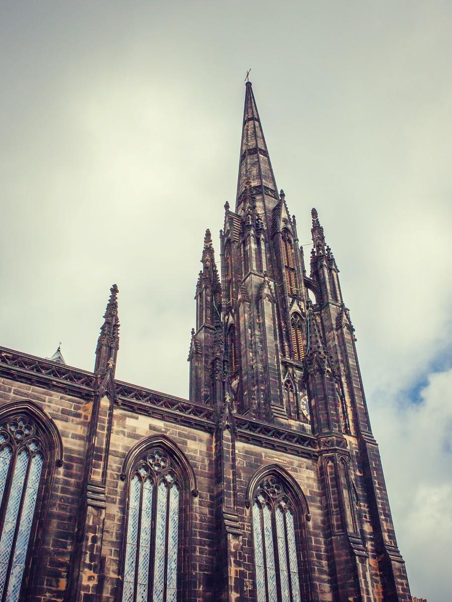 苏格兰爱丁堡,仰头望去_图1-6