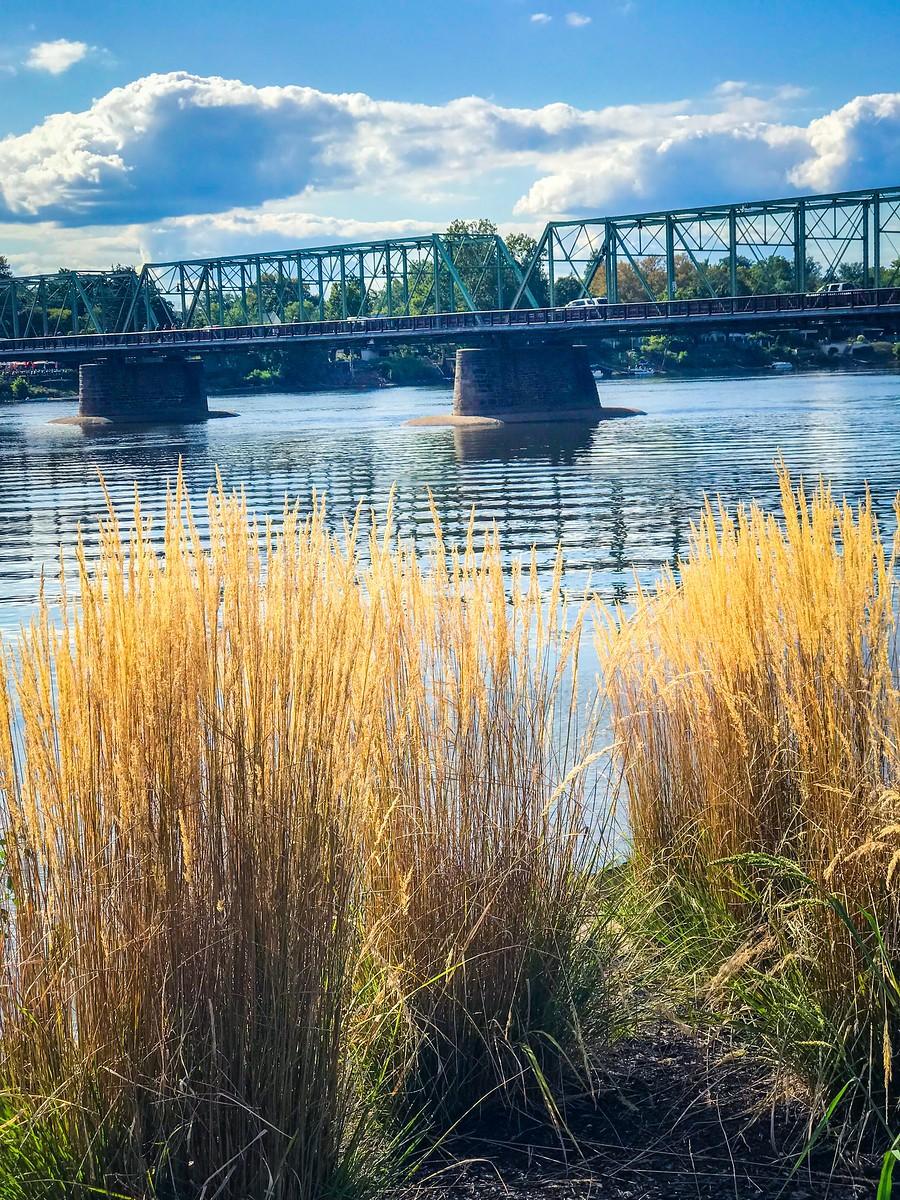 賓州新希望小城(New Hope),連接兩州的鐵橋(賓州和新澤西州) ..._圖1-10