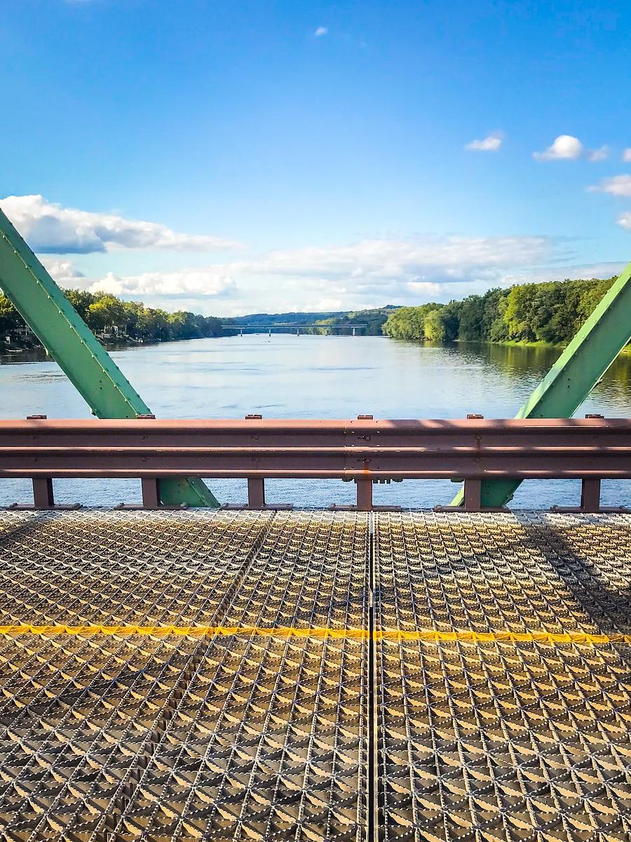 賓州新希望小城(New Hope),連接兩州的鐵橋(賓州和新澤西州) ..._圖1-24