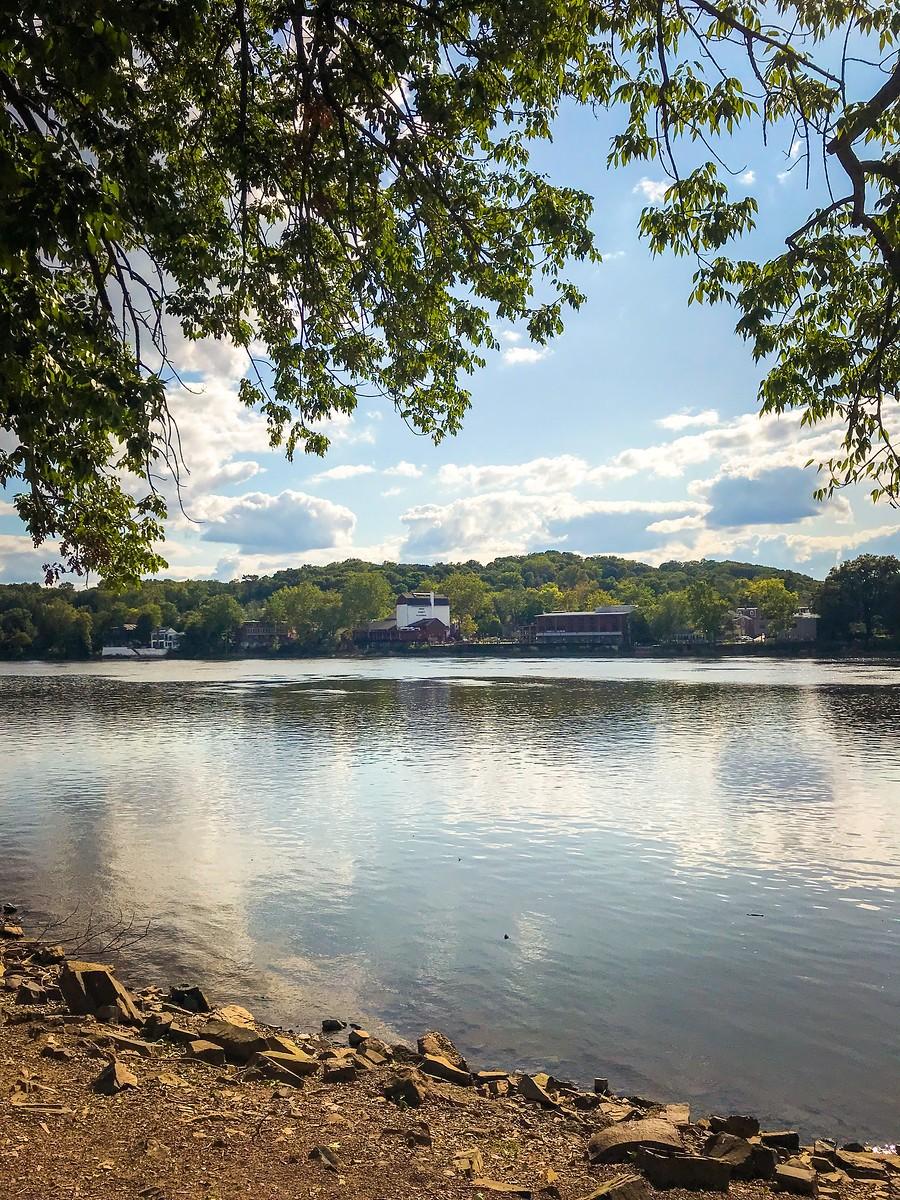賓州新希望小城(New Hope),連接兩州的鐵橋(賓州和新澤西州) ..._圖1-23