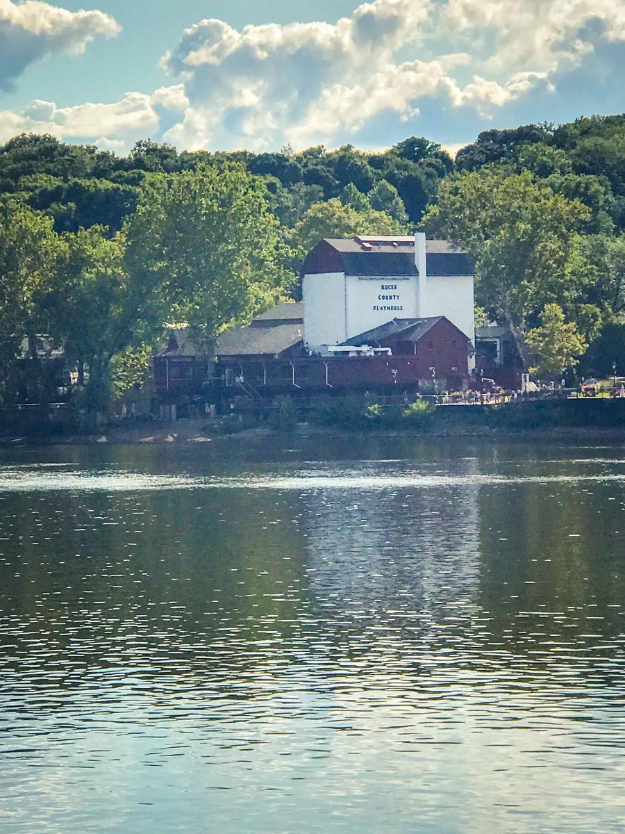 賓州新希望小城(New Hope),連接兩州的鐵橋(賓州和新澤西州) ..._圖1-26