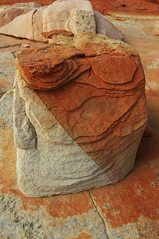 棉花木峡谷之------红岩,白岩与黄岩_图1-2