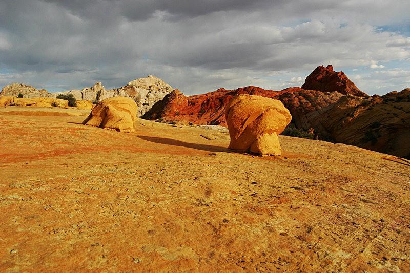棉花木峡谷之------红岩,白岩与黄岩_图1-3