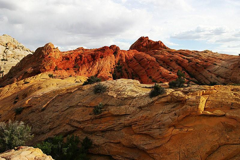 棉花木峡谷之------红岩,白岩与黄岩_图1-5
