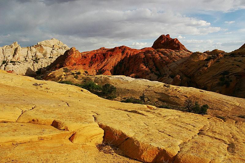 棉花木峡谷之------红岩,白岩与黄岩_图1-7