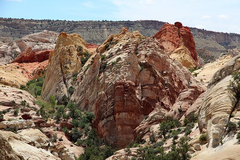 棉花木峡谷之------红岩,白岩与黄岩_图1-12