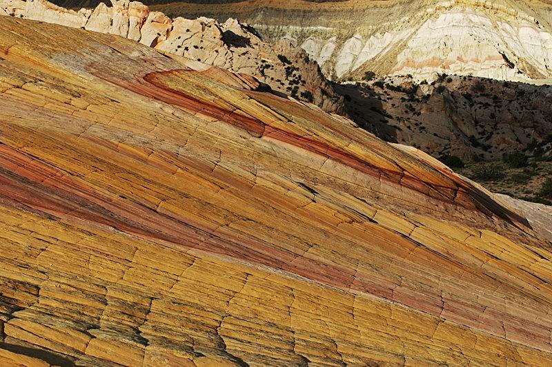 棉花木峡谷之------红岩,白岩与黄岩_图1-13