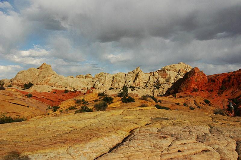 棉花木峡谷之------红岩,白岩与黄岩_图1-17