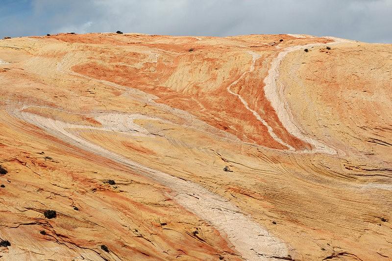 棉花木峡谷之------红岩,白岩与黄岩_图1-24
