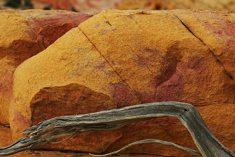 棉花木峡谷之------红岩,白岩与黄岩_图1-28