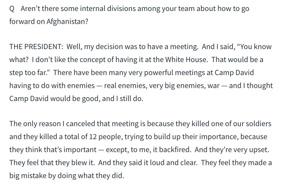 特朗普:与塔利班秘密谈判的失败过程_图1-5