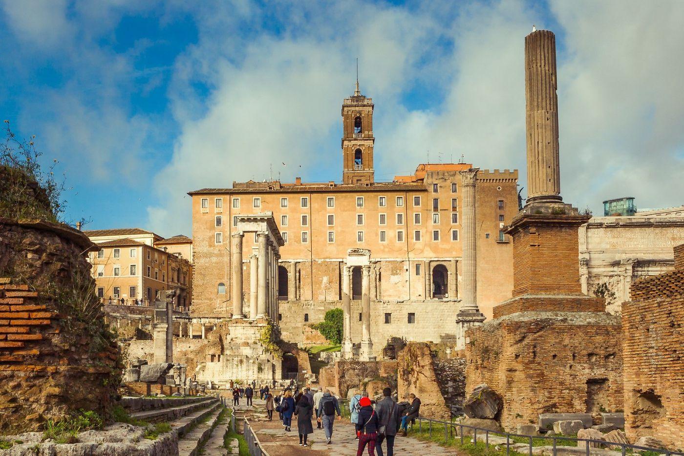 意大利罗马论坛,二千年的历史_图1-12