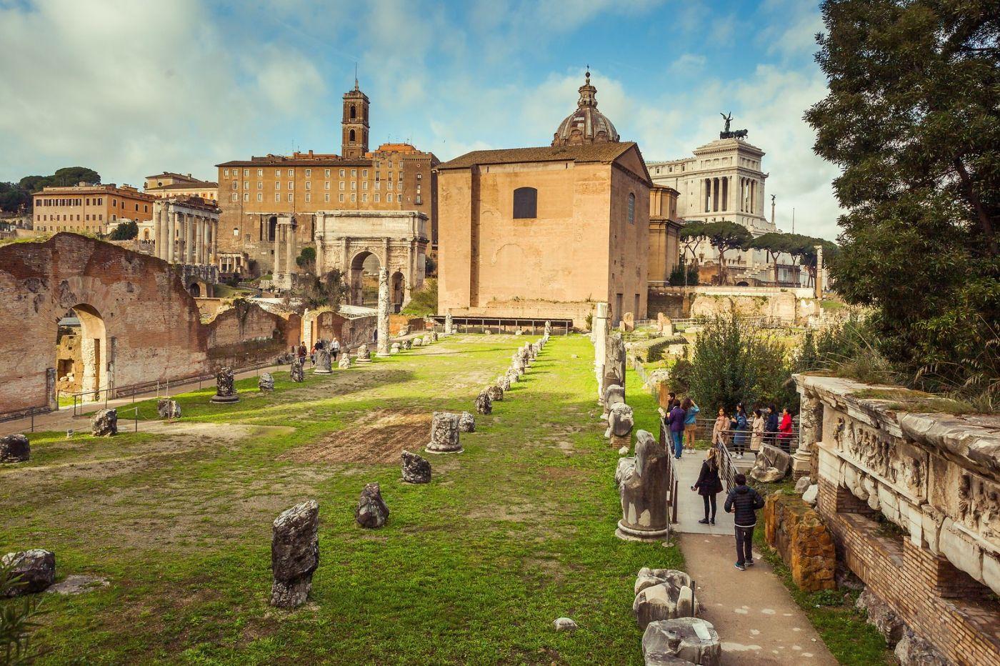 意大利罗马论坛,二千年的历史_图1-11