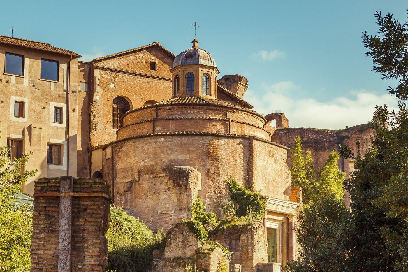 意大利罗马论坛,二千年的历史_图1-6