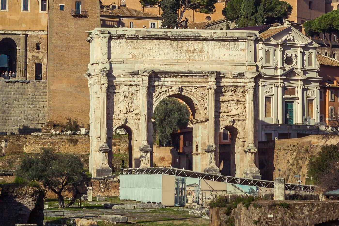 意大利罗马论坛,二千年的历史_图1-8