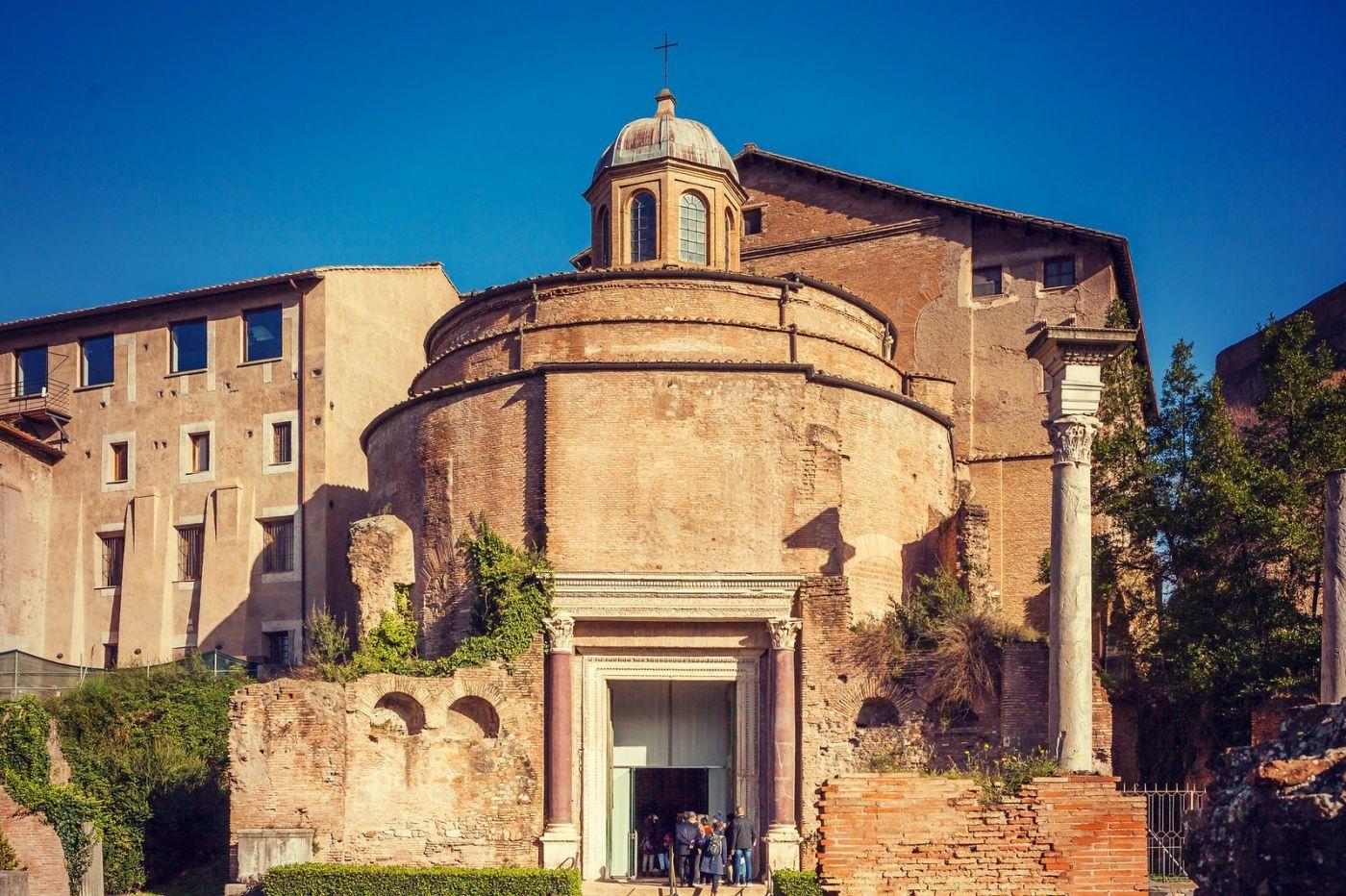 意大利罗马论坛,二千年的历史_图1-2