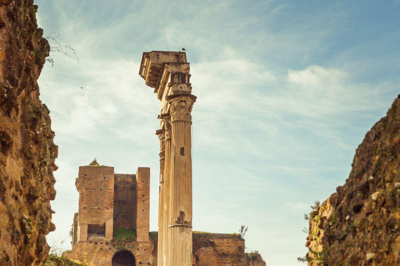 意大利罗马论坛,二千年的历史_图1-4