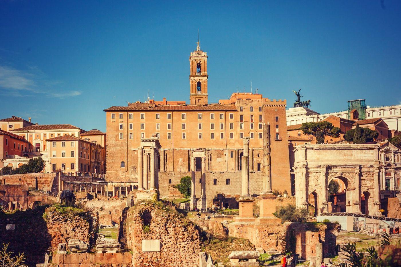 意大利罗马论坛,二千年的历史_图1-14