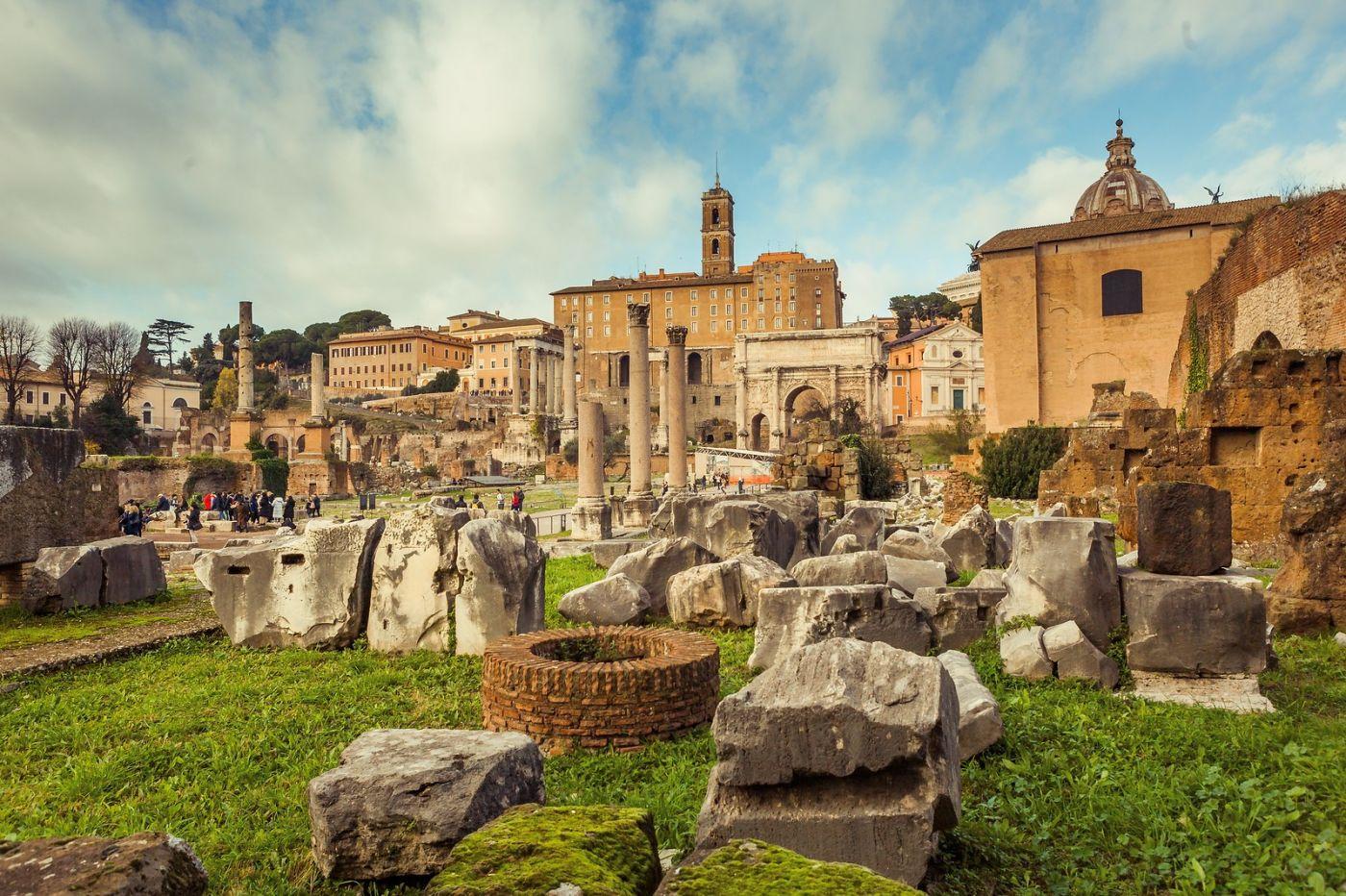 意大利罗马论坛,二千年的历史_图1-1