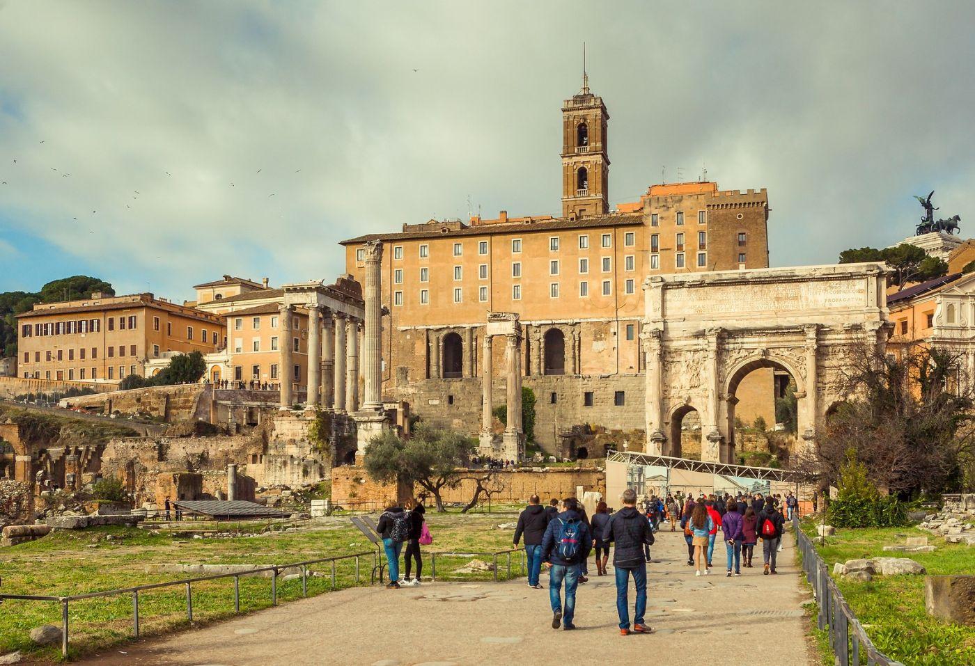 意大利罗马论坛,二千年的历史_图1-16