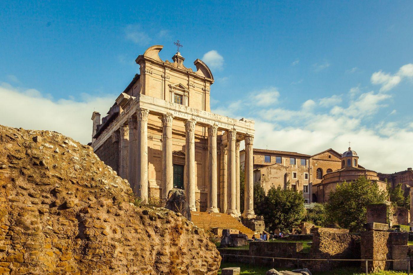 意大利罗马论坛,二千年的历史_图1-20