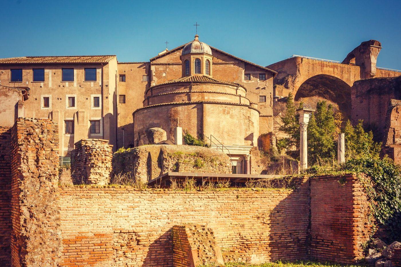意大利罗马论坛,二千年的历史_图1-18