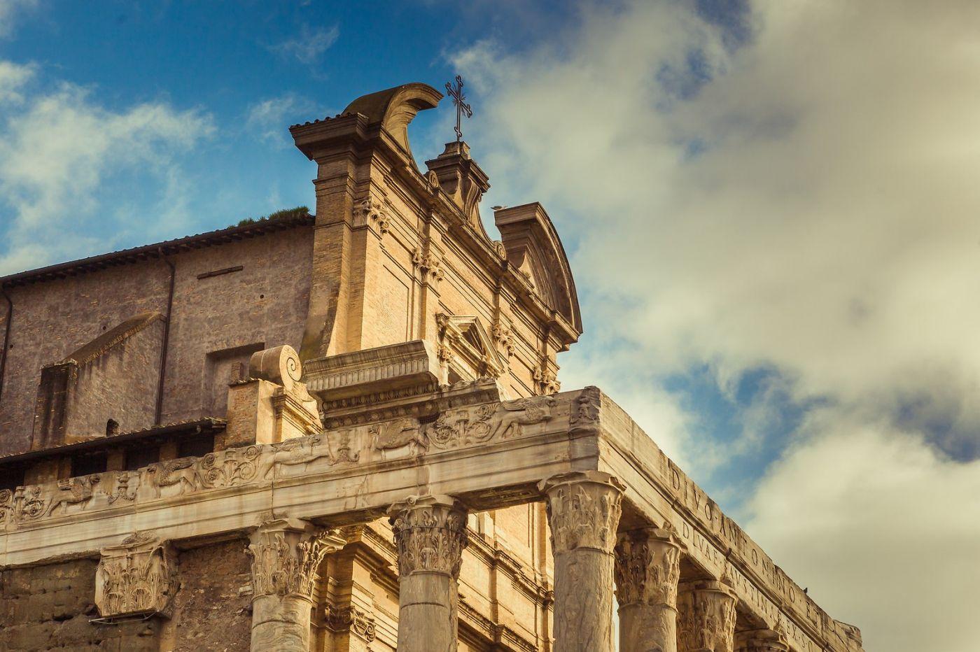 意大利罗马论坛,二千年的历史_图1-23