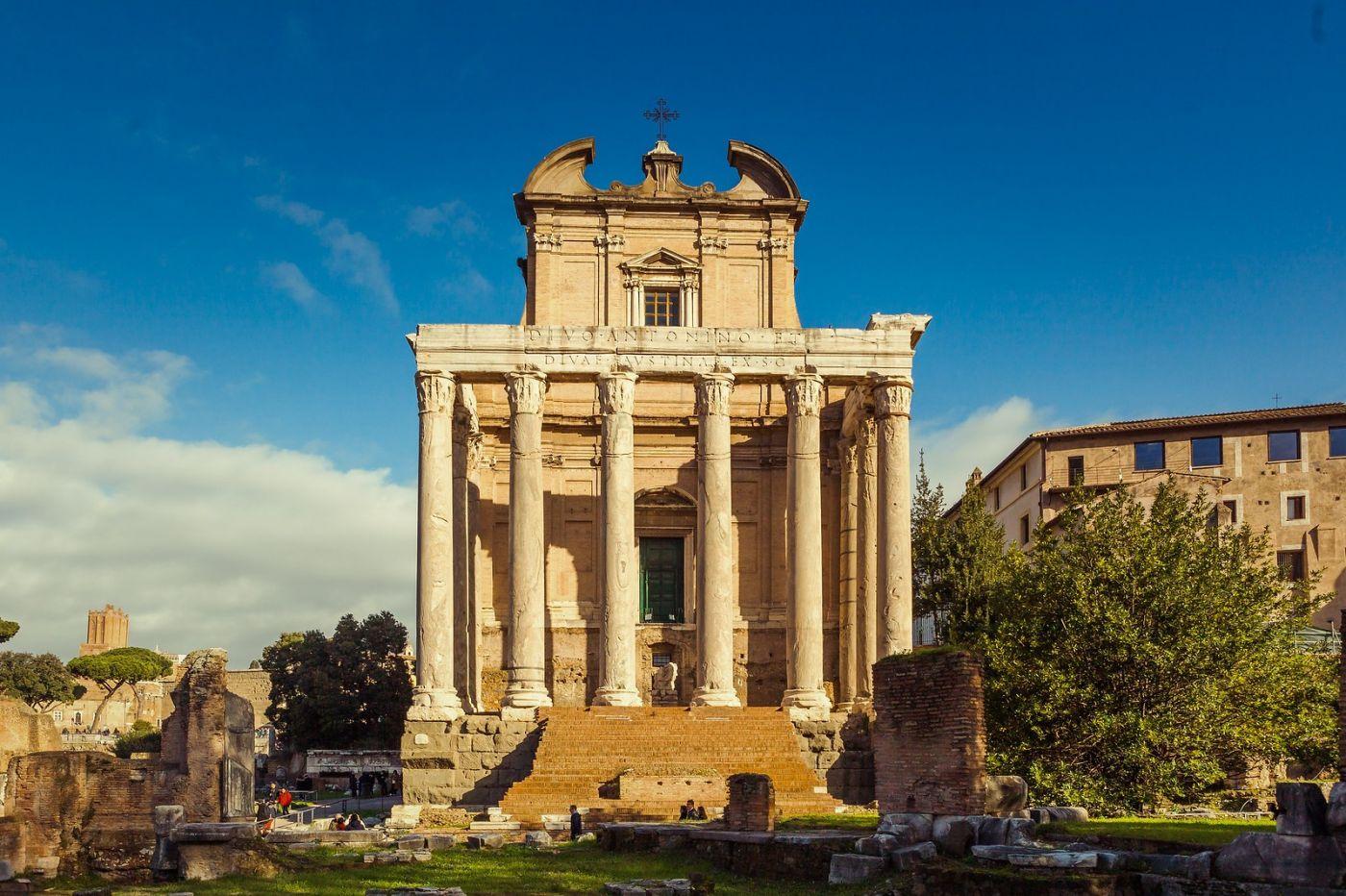 意大利罗马论坛,二千年的历史_图1-26