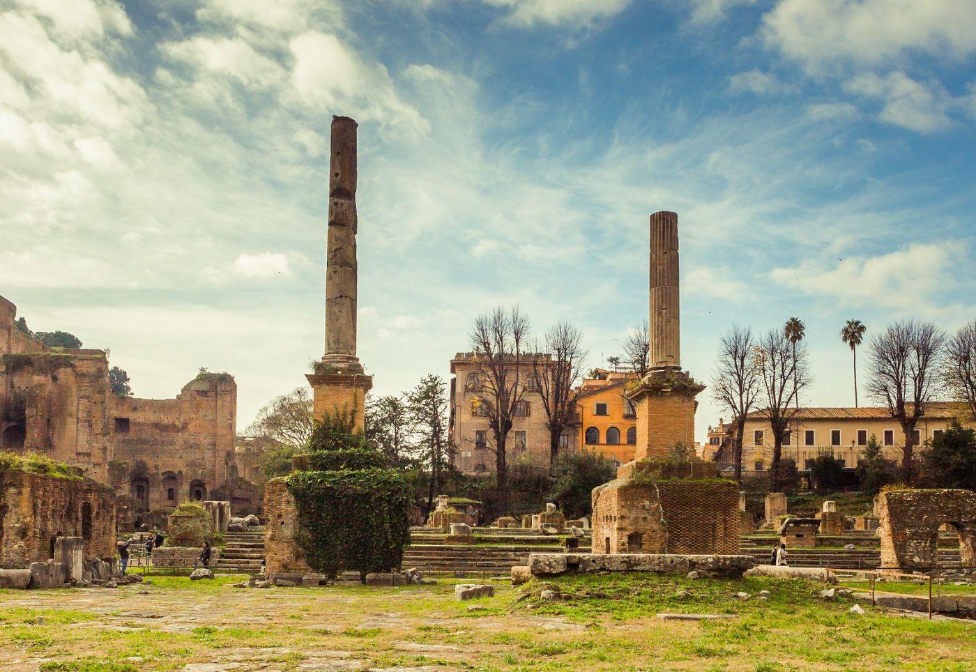 意大利罗马论坛,二千年的历史_图1-36