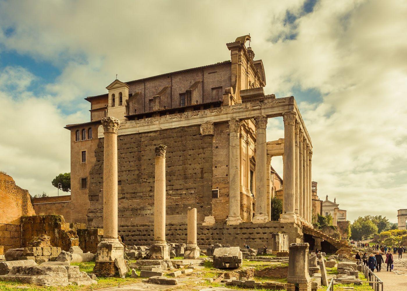 意大利罗马论坛,二千年的历史_图1-30