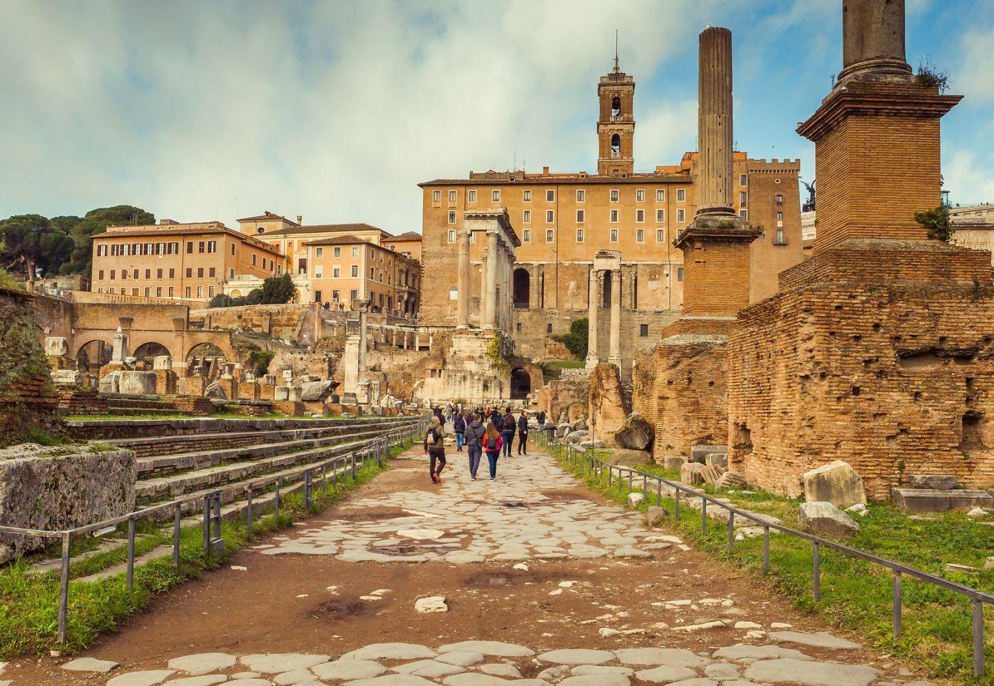 意大利罗马论坛,二千年的历史_图1-39