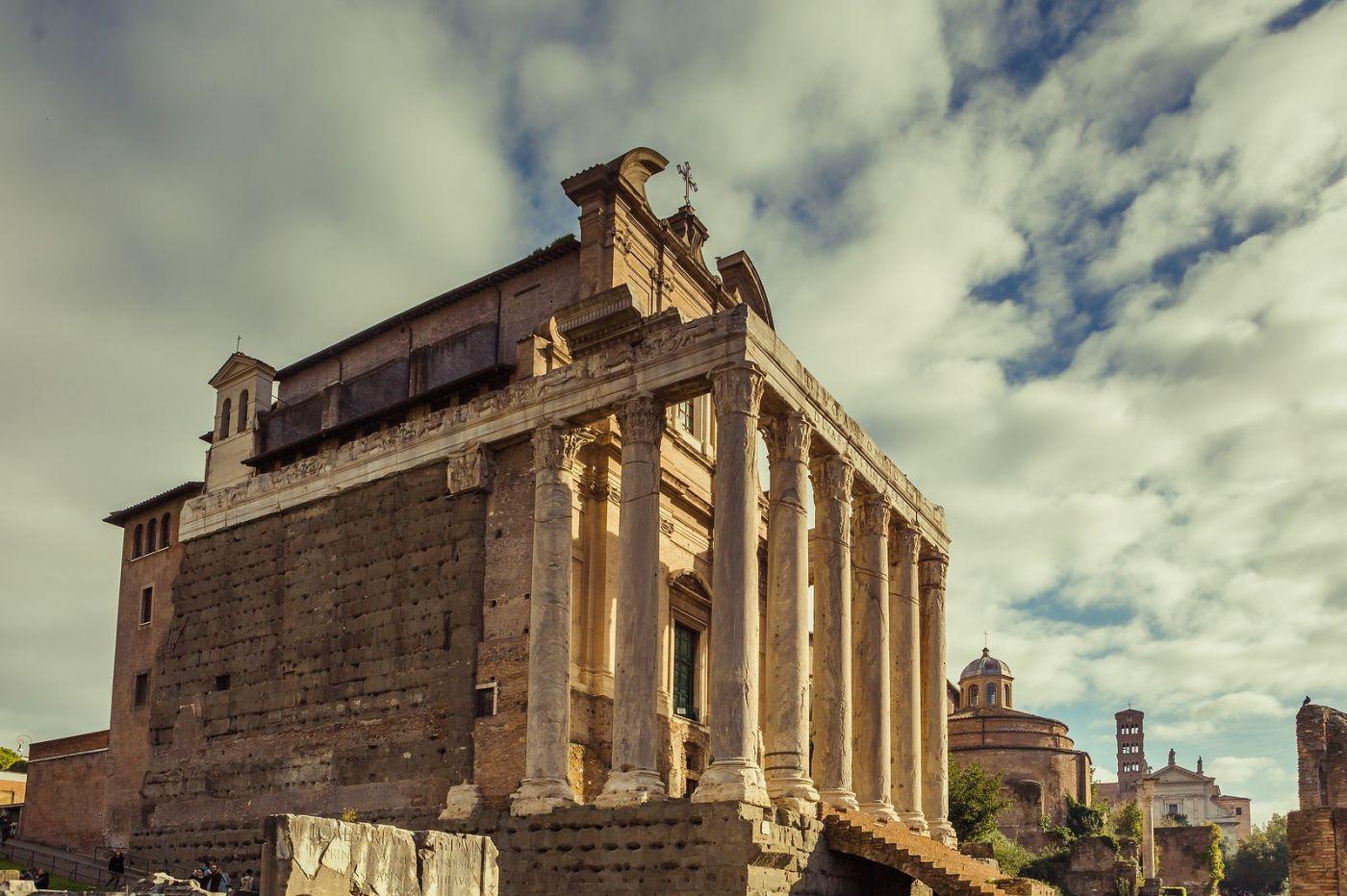 意大利罗马论坛,二千年的历史_图1-40