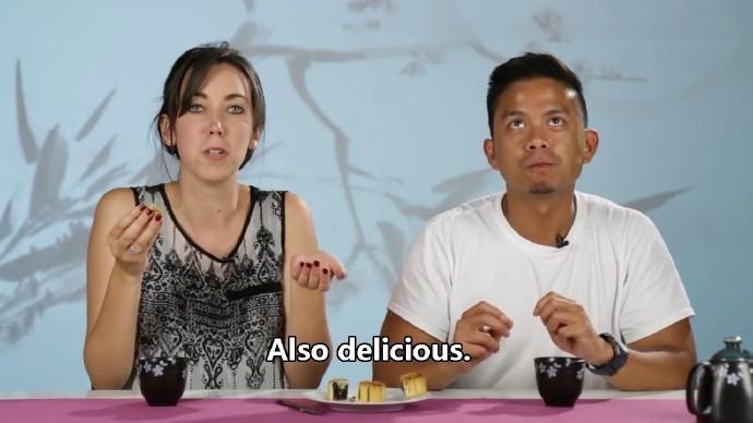 高娓娓:美国人对各种月饼的反应!里面居然有个蛋?藤椒牛肉令人疯狂! ..._图1-11