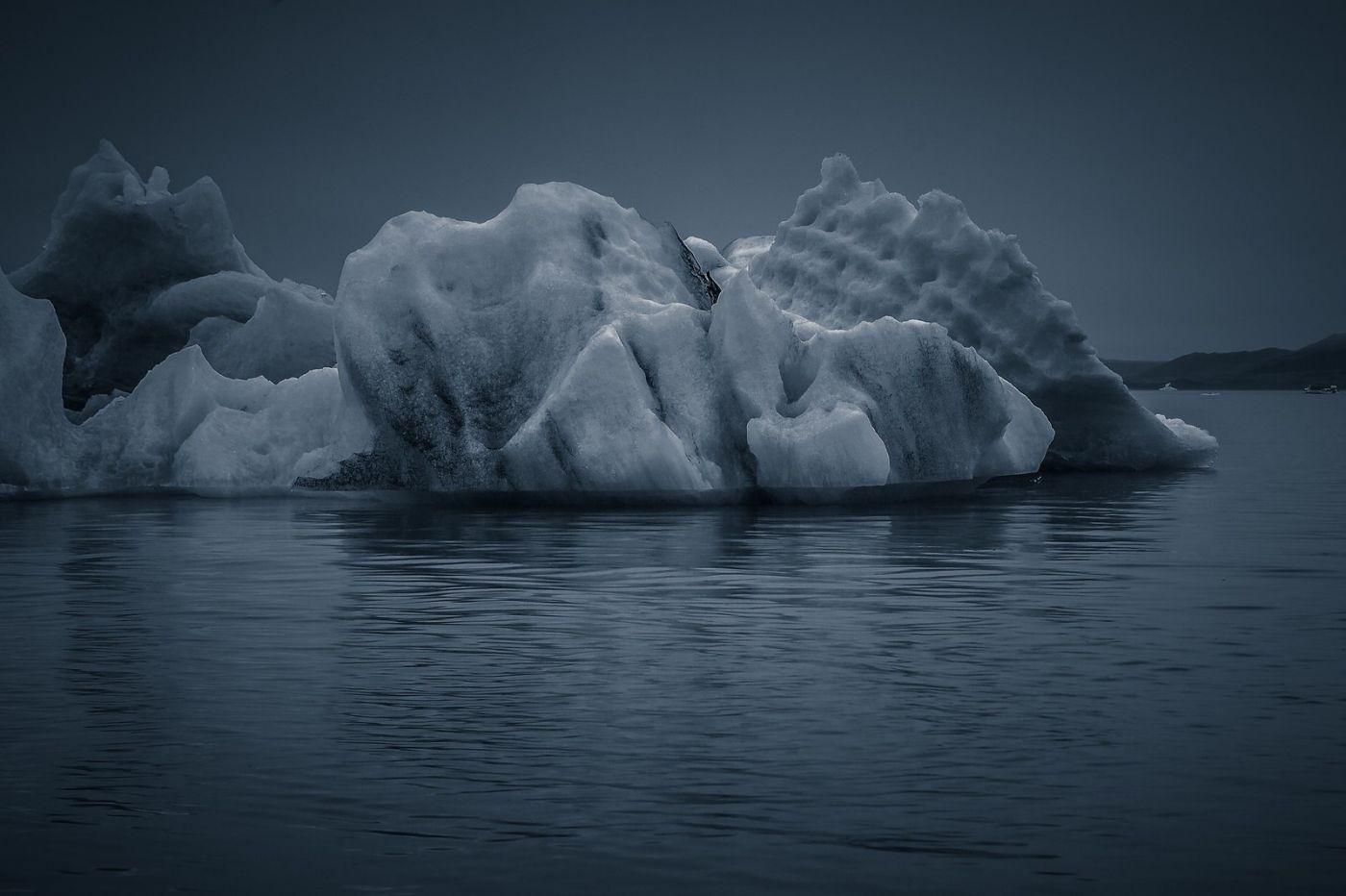冰岛冰川泻湖(Glacier Lagoon),流动的冰川_图1-1
