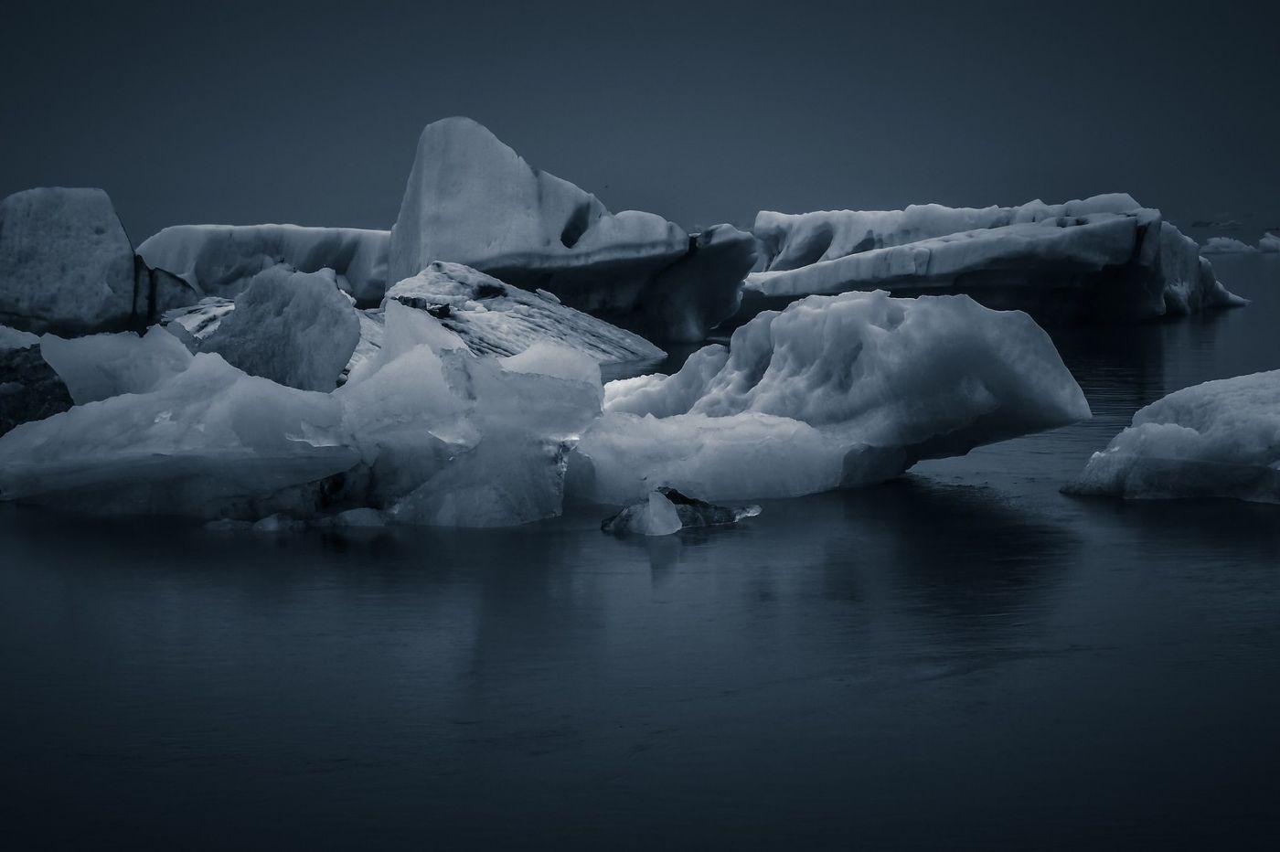 冰岛冰川泻湖(Glacier Lagoon),流动的冰川_图1-10