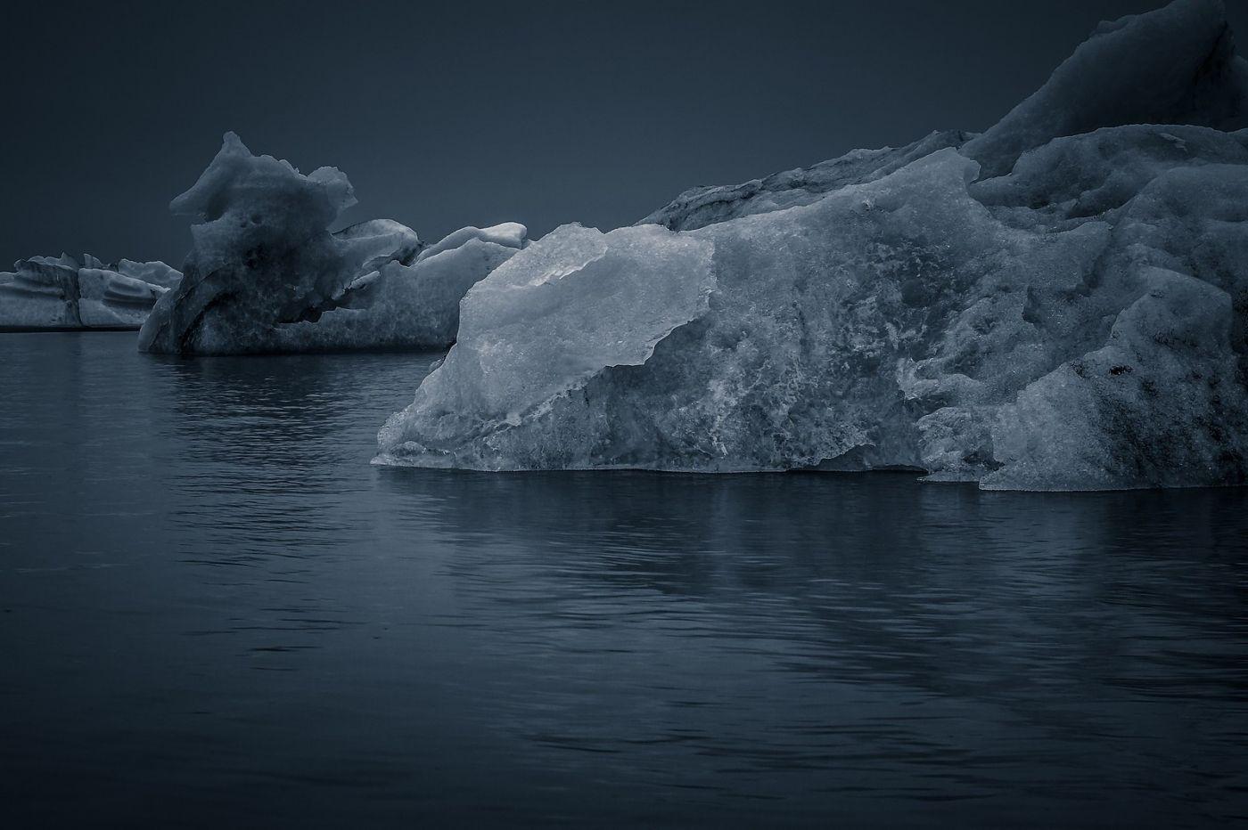 冰岛冰川泻湖(Glacier Lagoon),流动的冰川_图1-11
