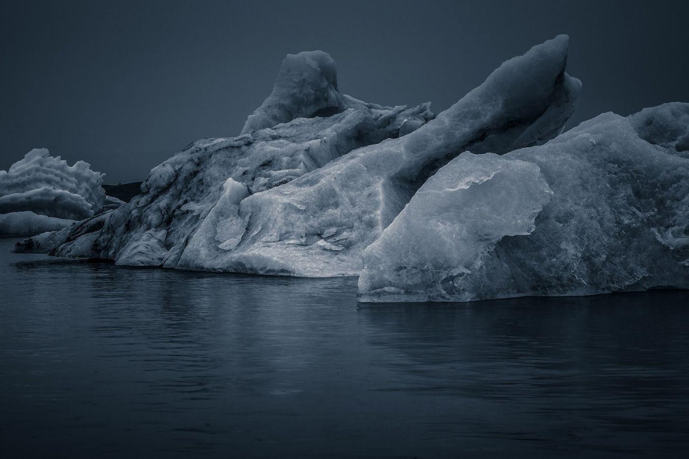 冰岛冰川泻湖(Glacier Lagoon),流动的冰川_图1-16