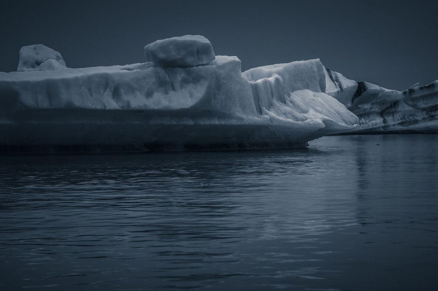 冰岛冰川泻湖(Glacier Lagoon),流动的冰川_图1-15